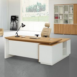 AV Furniture Brown Office Furniture Set