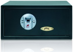 Blue Biometric Locker