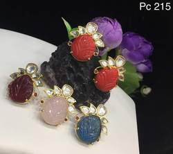 Antique colour stone Earrings