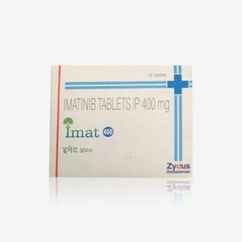 Imat 400 Imatinib Tablets IP 400 Mg, Packaging Type: Box