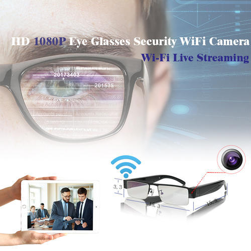 822e6818477f HD Eye Glasses Hidden Spy Camera at Rs 8500  piece
