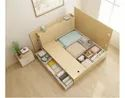 Bed With Storage