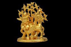 Golden Kamadhenu - 1.5 Statue