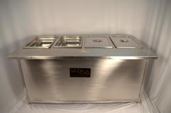 Professional Bain Marie Cabinet