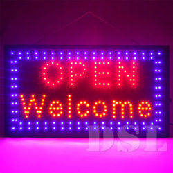 Blue, Red Bullet LED Display Board, Usage/Application: Commercial/Outdoor Lights