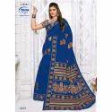 Meena Printed 4132 Ladies Cotton Party Wear Saree, 5.5 M (separate Blouse Piece)