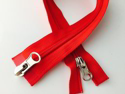 Double Slider Nylon No.5 Zipper