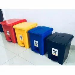 Bio Medical Waste Dustbin 60Ltrs
