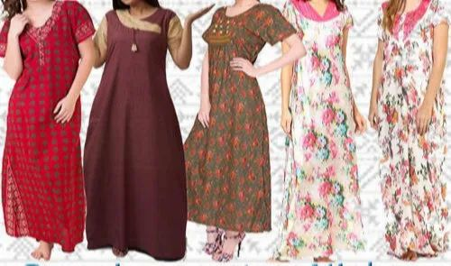 Full Length Night Dress Nighties