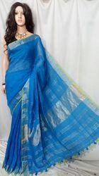 Trendy Linen Handloom Saree