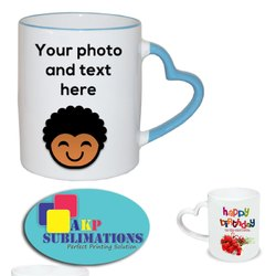 Logo Coffee Mugs Printing Services, for Gift, in Pan India