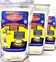 Vismaad Indian Wheat Free Atta, 1kg, Packaging Type: Pouch