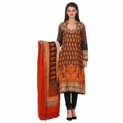 cc06859914 Cotton Casual Wear Ladies Designer Printed Suit, Rs 1500 /piece | ID ...