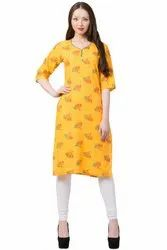VFLK-42 Daily Wear Printed Kurti in Jaipuri Print