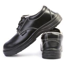 Indcare Polo  Steel Toe Black Safety Shoes