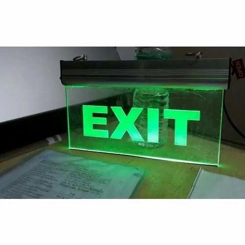 Laser Exit Signage