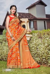Siddharth Silk Presents Digital Kolkata Vol 1 Ethnic Wear Saree
