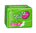 24 Care Dry Care Ultra Clean Sanitary Napkins