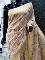 Pure Silk Khaddi Chiffon Saree