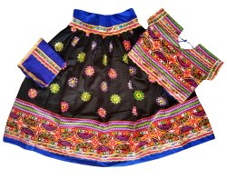 Gujarati Handmade - Kids Lehenga Choli