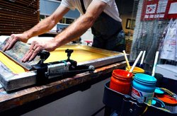 Screen Printing, For Advertisment & Promotion, Automation Grade: Manual