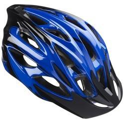 Carbon Steel And Foam Blue And Black Cycling Helmet