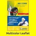 Offset Printed Multicolor Leaflet