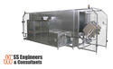Conveyor Type Wheelie Bin Washing Machine