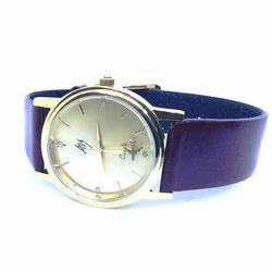Aviator Shopper Blue Womens Revolving Airplane Wrist Watch