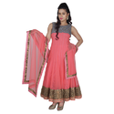 Chandelier Bodice Anarkali Suit, Size: S-xl