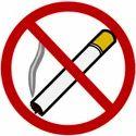 No Smoking Safety Signage