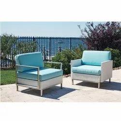 Modern Fancy Sofa Chair, Back Style: Cushion