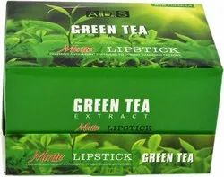 Multicolor Natural ADS Green Tea Extract Multicolour Lipstick, Type Of Packaging: Box