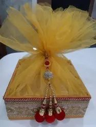 Pink Yellow Wedding Sweet Boxes for Packaging