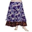 Girls Vintage Wrap Skirt