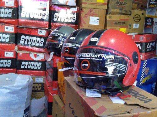 Isi Approved Open Face Helmet