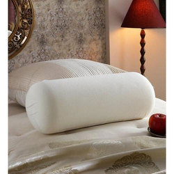 White Bolster Pillow