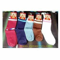 School Uniform Patta Socks