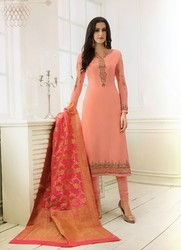 94cc597677 Rivaa Cotton Embroidery Suits at Rs 1380 /piece(s) | Cotton ...