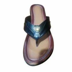 Plain Ladies Casual Wear Slipper, Size: 6-9