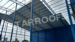 Metal Structural Fabrication Shed