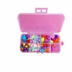 Plastic Fancy show buttons and beads, For Making Jewellery