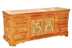 Natesan's Arts Brown Teak Wood Table, Size: 6 Feet X 2 Feet X 2.5 Feet