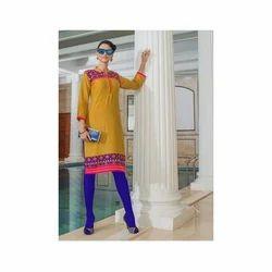 Long Designer Cotton Silk Kurtis