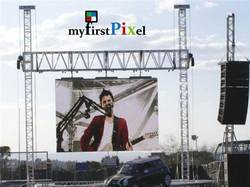 Hanging Type Outdoor LED Screen Display