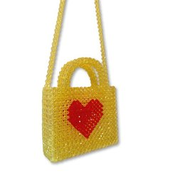 Hart Beaded Bag