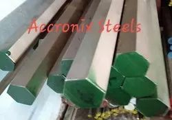 Stainless  Steel Hex Bar Accross Flat