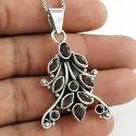925 Sterling Silver Diamond Pendant