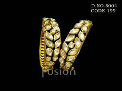 Traditional Antique Designer Kundan Bangles