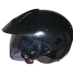 Black Male Driving Helmets